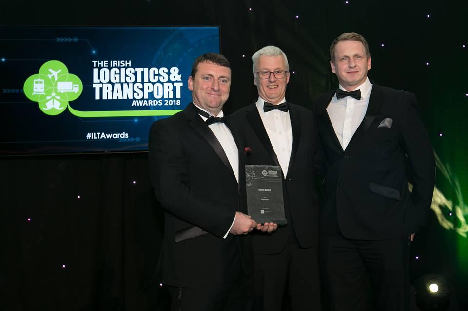 Winners at Irish logistics Transport Awards