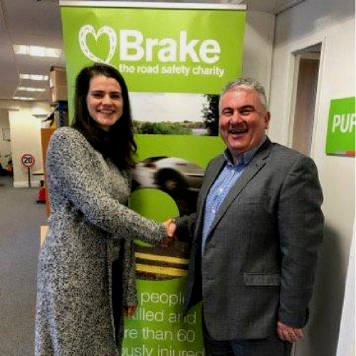 Partnership with BRAKE, Road Safety Charity